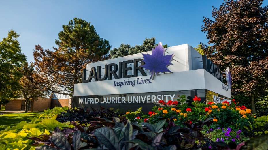 Wilfrid Laurier University marque